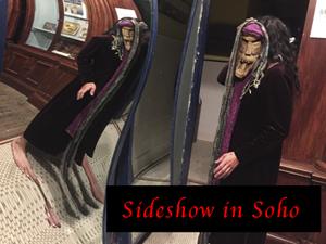 Secret Speakeasy - Sideshow in Soho